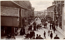 More details for rhayader. west street. market day by wallace jones.