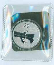 2011 CANADA $20.00   .9999 PURE SILVER CANOE COIN  & CARD MINT