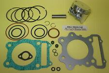 2 valve 76mm Piston Top End Gaskets Spark Plug Honda TRX300 1988-2000
