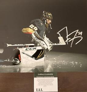 Marc Andre Fleury Signed Vegas Golden Knights 8x10 Photo COA