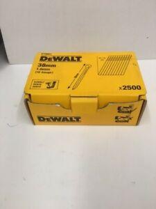DEWALT BRAD NAIL 38MM 22DEG BOX 2500 DT9901QZ