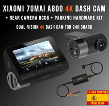 Xiaomi 70mai Smart Dash Cam 4K A800 + Rear Camera RC06 + Parking Hardware KIT