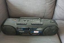 Panasonic RX-FT530 Portable Radio Twin Cassette tape  Recorder Boombox A