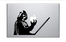DARTH VADER Apple Logo Cover Laptop Vinyl Decal Sticker Macbook 13 15 17""