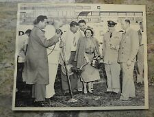 Vintage 1950 Breaking Ground Fort Worth International Airport photo Amon Carter