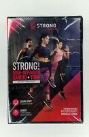 ZUMBA: STRONG BY ZUMBA - HIGH-INTENSITY CARDIO + TONE NEW DVD 60 minute workout
