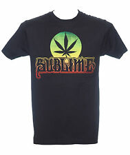 SUBLIME - POT LEAF CIRCLE - Official Licensed T-Shirt - Ska Punk - New M L XL