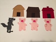 Three Little Pigs Felt Flannel Board Story Teachers Resources