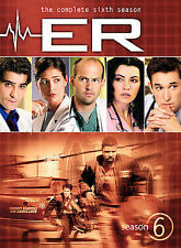 ER ~ Complete 6th Sixth Season 6 Six ~ BRAND NEW 6-DISC DVD SET