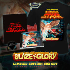 JACK STARR'S BURNING Starr-Blaze of Glory (new*lim.100 Box * CD + T-Shirt * + 5)