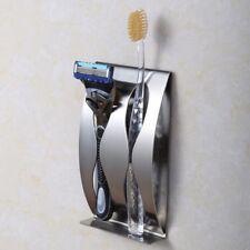 Edelstahl wandhalterung zahnbürstenhalter 2 position selbstklebende - box bad