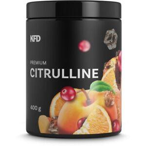 KFD Citrulline Premium 400 g 80 servings - Bargain 4 Flavours Maintain ATP & NO
