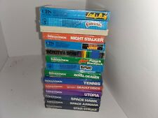 Wholesale Lot of 15  NEW Factory sealed Intellivision games