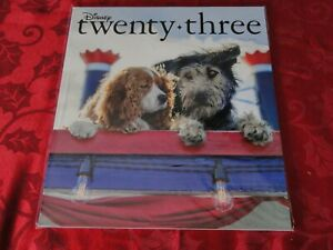 2019 Disney D23 Fall Magazine Lady and the Tramp Disney+ NEW