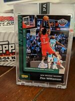 ZION WILLIAMSON Rookie Card (RC) Panini Instant 8/3/20 #134 Green Parallel #d/10