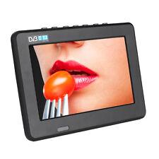NEW 7 inch HD LED TV AC/DC 12V DVB-T/T2 Digital Analog Television USB TF Player
