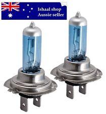 2 x H7 12V 100w Car Halogen Super white Headlight bulbs globe AU