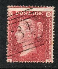 QV line engraved penny red star Sg 36 spec C11 ( L G ) un-plated