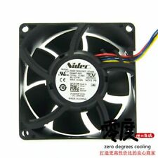 fan NIDEC H80E12MS1B7-57A02 8038 DC12V 0.58A 4 New #YY0
