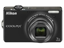 Nikon Digital Camera Coolpix S6000 Roh Bull Black S6000Bk
