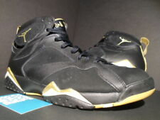 brand new b9a90 b6a1f NIKE AIR JORDAN VII 7 RETRO GMP GOLDEN MOMENT GOLD MEDAL PACK BLACK WHITE  10.5