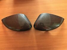 CARBON FIBRE WING MIRROR COVERS FITS FORD FIESTA MK7 2008-2017 REPLACEMENT FIBER