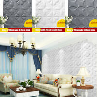 3D PE Foam Brick Self Adhesive Wall Stickers Waterproof Panels Room Decor