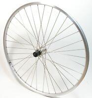 "Rigida ZAC19 8 / 9-Fach 28"" Zoll Hinterrad mit Shimano RM30 Nabe Silber Laufrad"