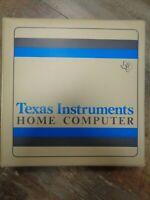 TEXAS INSTRUMENTS TI99/4A --> TI-WRITER WORD PROCESSOR