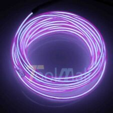 9FT 15FT Neon LED Light Glow EL Wire String Strip Rope Tube Car Dance Party