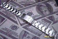 Solid S/ Steel metal Bracelet strap band 20mm compatible with Omega Seamaster