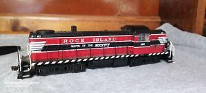 Bachmann HO 64209 Rock Island HO Alco RS 3 Diesel Locomotive 493