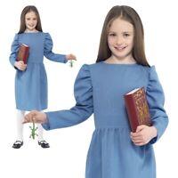 CK808 Roald Dahl Matilda Girls World Book Week Fancy Dress Up Child Kids Costume