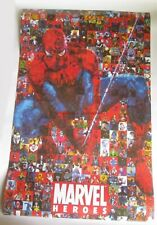 Spiderman Marvel Heroes Comics 2008 Collage Poster Print  22 x 34 Spider Man