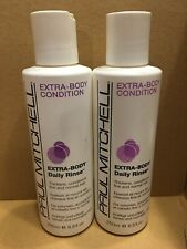 2 Pack Paul Mitchell Extra-Body Daily Rinse Condition 8.5 fl oz each