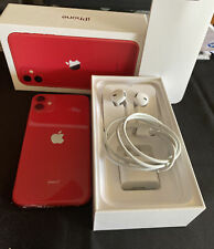 Apple iPhone 11 - 64GB - Red (Unlocked) As New Condition.