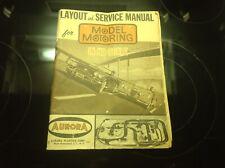 Aurora Model Motoring- 1961 Catalog- Track Layouts- Cars- Service- Dealers- Nice