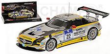 Mercedes SLS AMG GT3-24h ADAC Nürburgring 2011 #22 Negro Falcon team 1:43