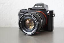 Carl Zeiss Sonnar T 85mm 2,8 adaptierbar digital Sony 7r II 7s Contax