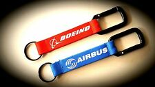 2x REMOVE BEFORE FLIGHT SNAP LINK  FABRIC TAGS KEY-CHAIN KEYRING SIZE 6''