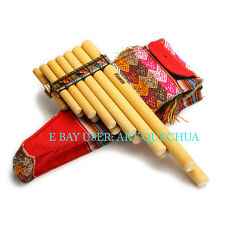 PAN FLUTE ZAMPONA FLETNIA PANA PAN PIPES FROM PERU ITEM IN EUROPE