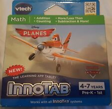 New Vetch Innotab system (Math) learning Disney planes.