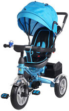 Kinderdreirad Kinderwagen Schieber Trike 7 in 1 Kinderbuggy Kinder Dreirad