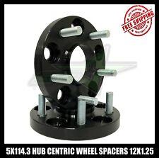 2X 5X114.3 Hub Centric Rueda Espaciadores 12X1.25 | 32MM para Todas Nissan