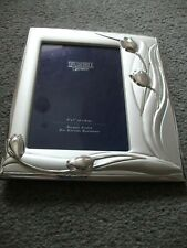shudehill giftware  silver coloured picture frame new 5 x 7