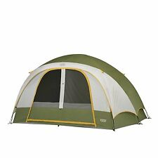 Family Tent 6 Person Large Waterproof Evergreen Tent for Camping Quick Set Up