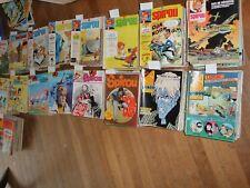 magazine SPIROU 50 numéros 2100 13 juil 1978 → 2149 21 juin 1979 aucun manquant