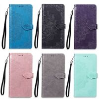 COQUE ETUI HOUSSE PORTEFEUILLE MANDALA LUXE CUIR NEUF POUR IPHONE 5 6 7 8 X Xs