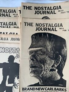 1974 1975 1976 THE NOSTALGIA JOURNAL Fanzine Newspaper #1-29