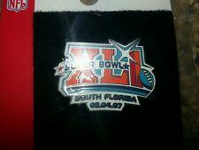 Lot of 15 Super Bowl XLI 41 NFL Football Colts vs Bears Lapel Pins